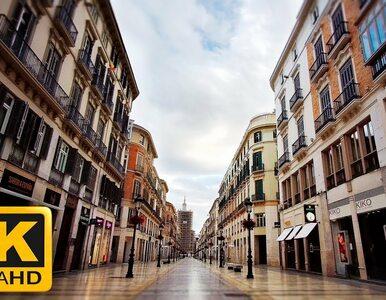 Opustoszałe ulice hiszpańskiego kurortu. Do sieci trafiło poruszające...