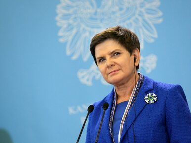 Premier Beata Szydło może kandydować na prezydenta Warszawy