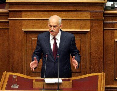 Papandreu będzie premierem Grecji tylko do wieczora?
