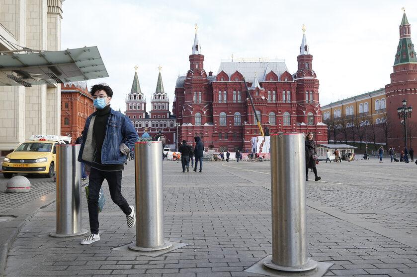 Przechodne w Moskwie