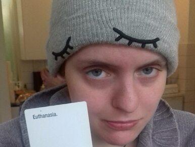 Poddała się eutanazji, bo miała problemy psychiczne. Śmierć 29-latki...