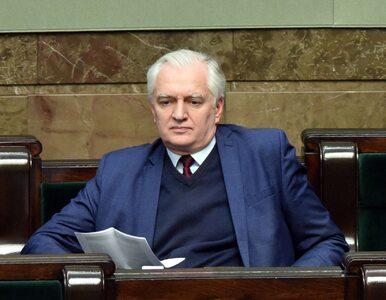 """Gowin o terminie wyborów. """"Apeluję do liderów opozycji, żeby przestali..."""
