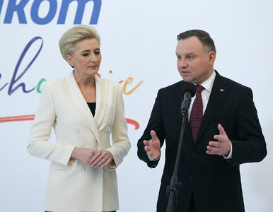 Sondaż. Polacy ocenili Agatę Kornhauser-Dudę w roli pierwszej damy