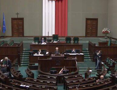 Posłanka PO blokowała mównicę w Sejmie, bo została wykluczona z obrad