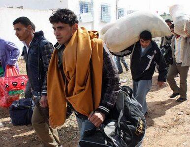 Syryjczycy uciekają z kraju