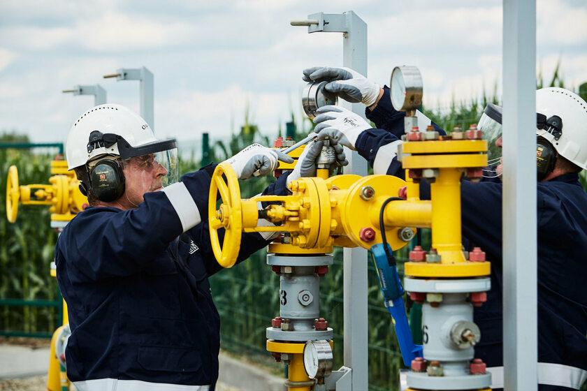 Gaz-system, prace przy gazociągu