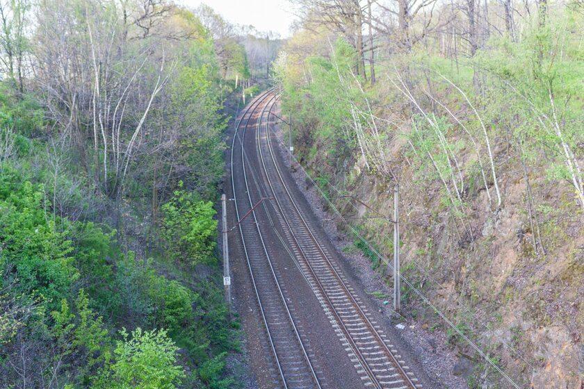 """Okolica, w której rzekomo ukryty jest """"złoty pociąg"""""""