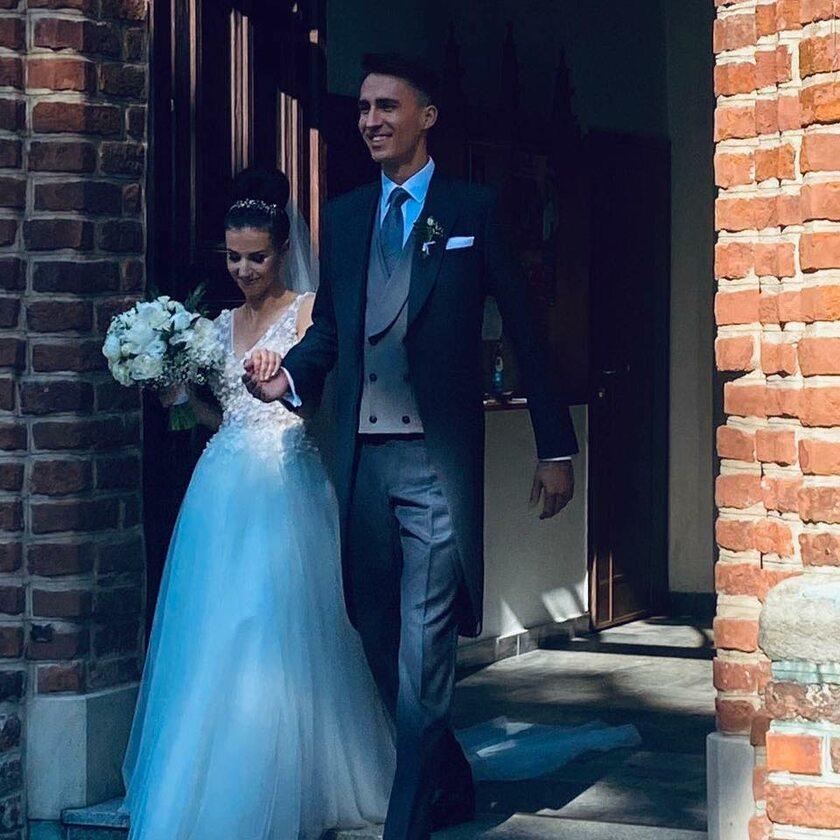 Natalia Schetyna-Leńczuk i jej mąż Aleksander Leńczuk