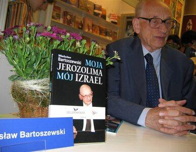 Słowacja odznacza Bartoszewskiego