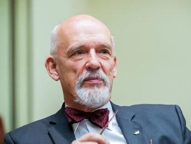 """Korwin-Mikke komentuje słowa szefa MSZ o uchodźcach. """"Akurat Oświęcim..."""