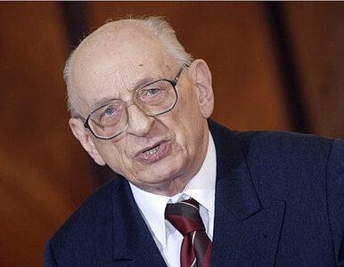 Bartoszewski: Po to siedziałem w więzieniach i obozach, żeby...