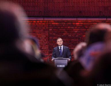 """Prezydent przemawiał na obchodach rocznicy wyzwolenia Auschwitz. """"Prawda..."""