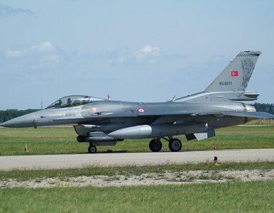 Turecki F-16 rozbił się na granicy z Syrią