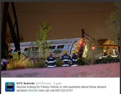 Pociąg z 238 pasażerami wykoleił się. Pięć ofiar