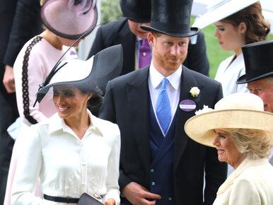 Wpadka Meghan Markle na Royal Ascot. Żona księcia Harry'ego złamała...