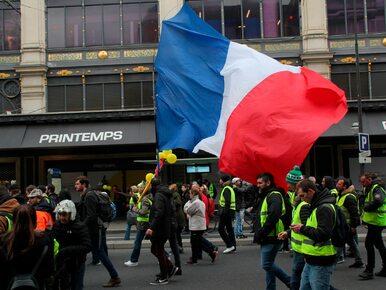 """Francja. Kolejne starcia """"żółtych kamizelek"""" z policją"""