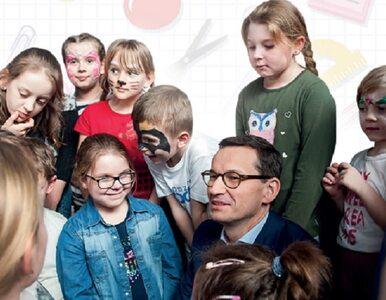 Ulotki z wizerunkiem premiera Morawieckiego w szkołach. Nie wszystkim...