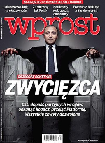Okładka tygodnika Wprost nr 39/2014 (1647)