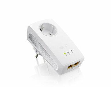 ZyXEL prezentuje pierwsze urządzenie Powerline z dwoma portami gigabitowymi