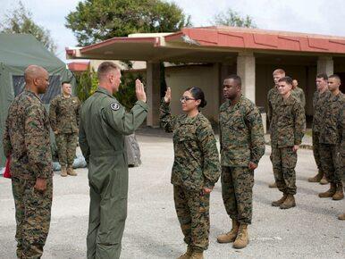 Jedna z pierwszych kobiet w marines odchodzi ze służby. Po romansie z...