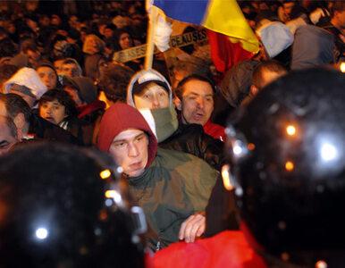 Kamienie poszły w ruch. Antyprezydenckie demonstracje w Rumunii