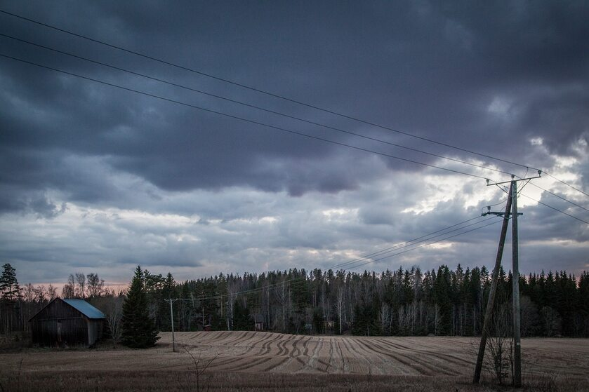 Wiatr, burza, zdj. ilustracyjne