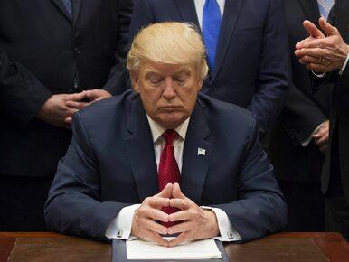 Niezwykły ruch Donalda Trumpa. Zaprosił wszystkich senatorów do Białego...