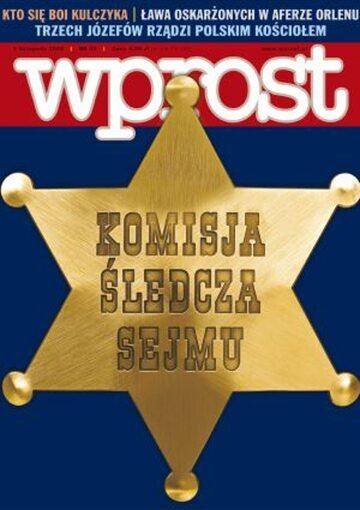 Okładka tygodnika Wprost nr 45/2004 (1145)