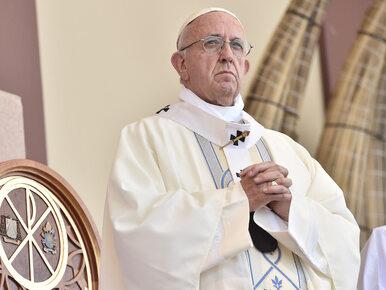 Nietypowy gest Franciszka. Papież żałuje swoich słów i przeprasza