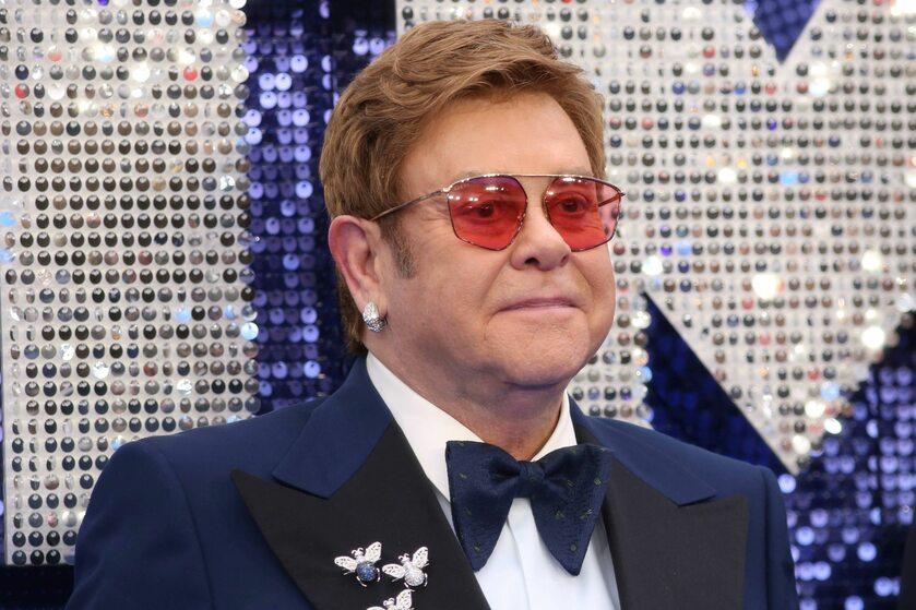 """Elton John na brytyjskiej premierze """"Rocketmana"""""""