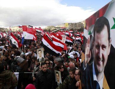 """""""Asad niszczy kraj, by stłumić rebelię"""""""