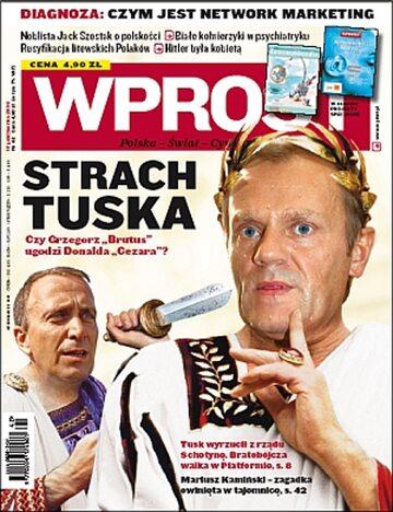 Okładka tygodnika Wprost nr 42/2009 (1395)