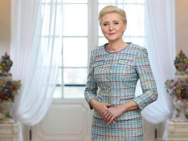 Agata Kornhauser-Duda nagrała krótkie przesłanie dla Polonii