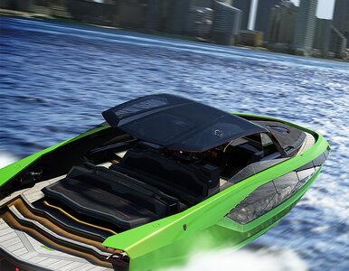 To Lamborghini nie jeździ, ale płynie. Jest szybki na wodzie, jak...