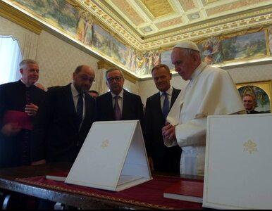 Papież Franciszek laureatem nagrody, którą  przeszłości otrzymali m.in....