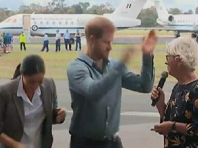 Zabawne zachowanie księcia Harry'ego w Australii. Tego chyba nikt się...