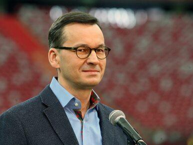 Premier Morawiecki: Nasi piłkarze będą osiągać sukcesy w Lidze Mistrzów