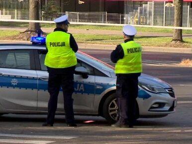Tragiczny wypadek w Warszawie. Kierowca nie żyje