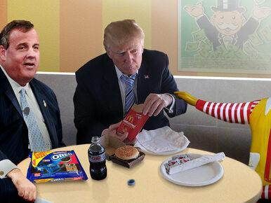 """McDonald's na Twitterze atakuje Trumpa. """"Jest obrzydliwy i ma małe..."""