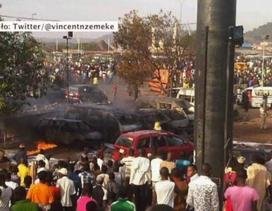 Zamach terrorystyczny na dworcu w Nigerii