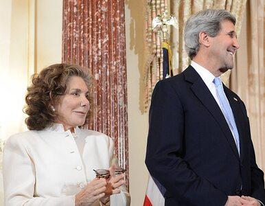Żona Johna Kerry'ego w szpitalu