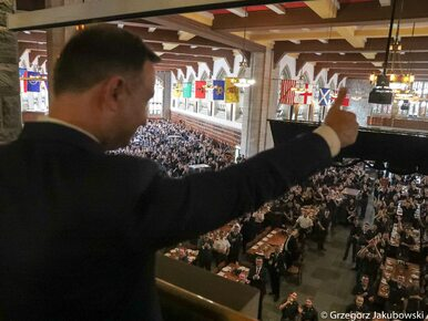 Andrzej Duda wywołał aplauz kadetów West Point. Co zrobił prezydent?