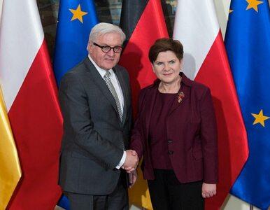 Spotkanie Szydło z szefem MSZ Niemiec. W lutym premier odwiedzi Angelę...