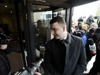 """Bartłomiej Misiewicz przegrał proces. """"Będzie apelacja, bo nie akceptuję..."""