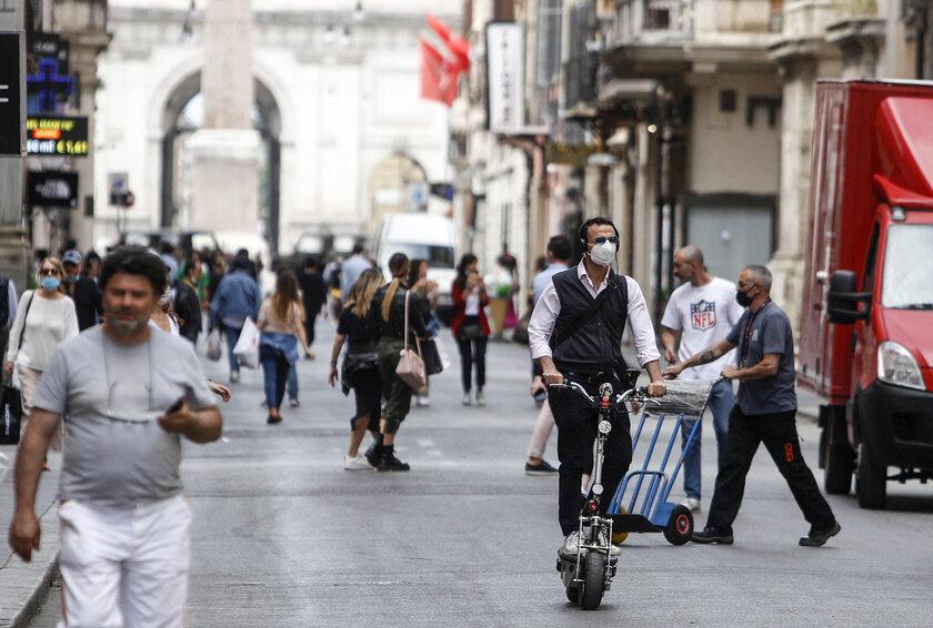Rzym w dobie pandemii koronawirusa