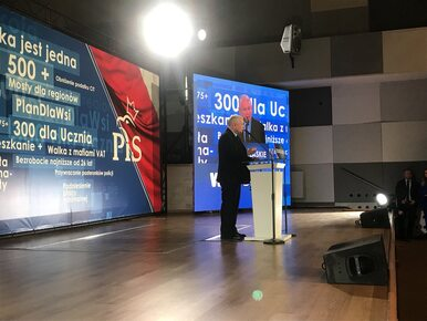 Pierwsza konwencja regionalna PiS. Kaczyński: Trzymamy się faktów,...