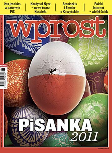 Okładka tygodnika WPROST: 16/2011