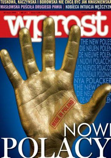 Okładka tygodnika Wprost nr 21/2005 (1173)