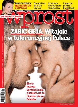 Okładka tygodnika Wprost nr 47/2013 (1604)