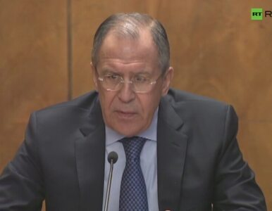 Szef MSZ Rosji: Pojawiła się szansa na pokój na Ukrainie